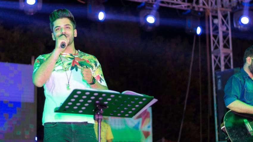 Singer Sahil Sachdeva during an event