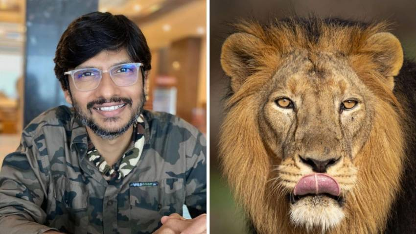 Wild is love and photography is all about passion above risk, says the Lionman, Tapan Sheth